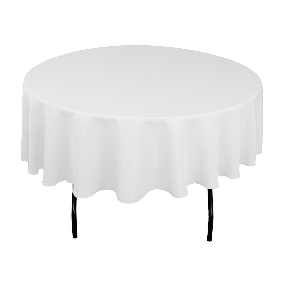 Solid White Tablecloths