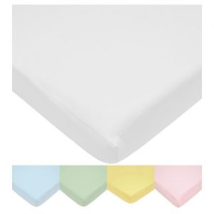 Color Knitted Crib Sheet